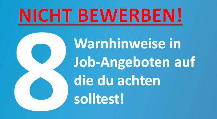 Warnhinweise-Job-Nebenjob-Arbeiten-Jobino