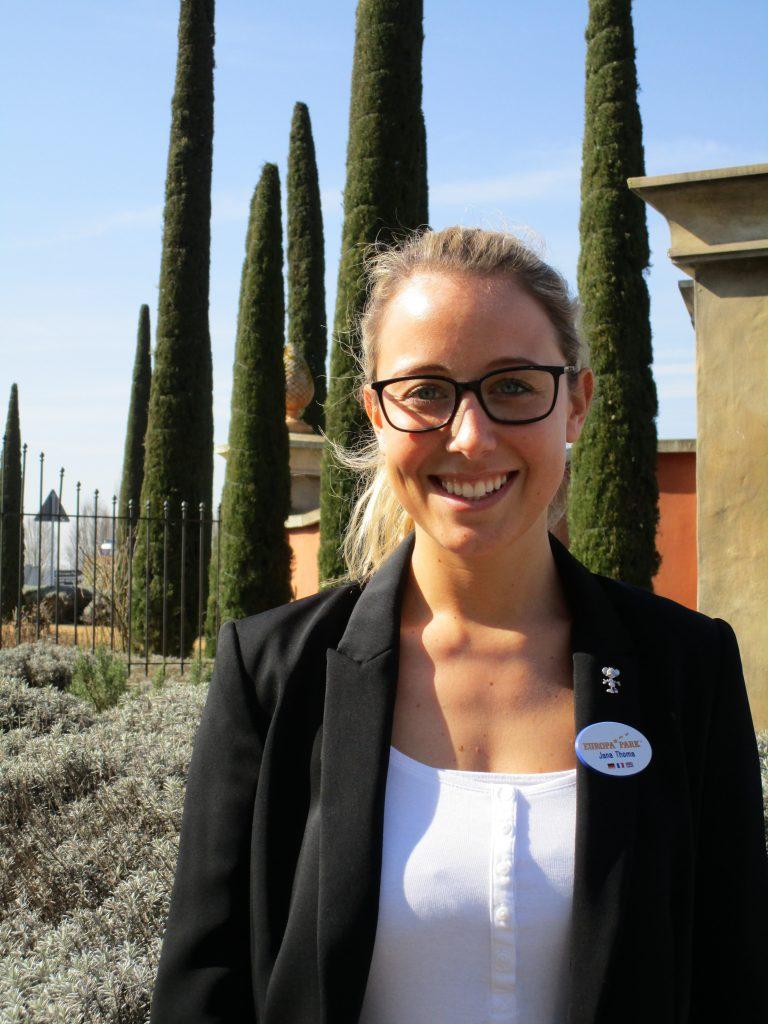 Jana Thoma - Personalreferentin und Verantwortliche für den Bereich Food & Beverage der Europa-Park Hotels