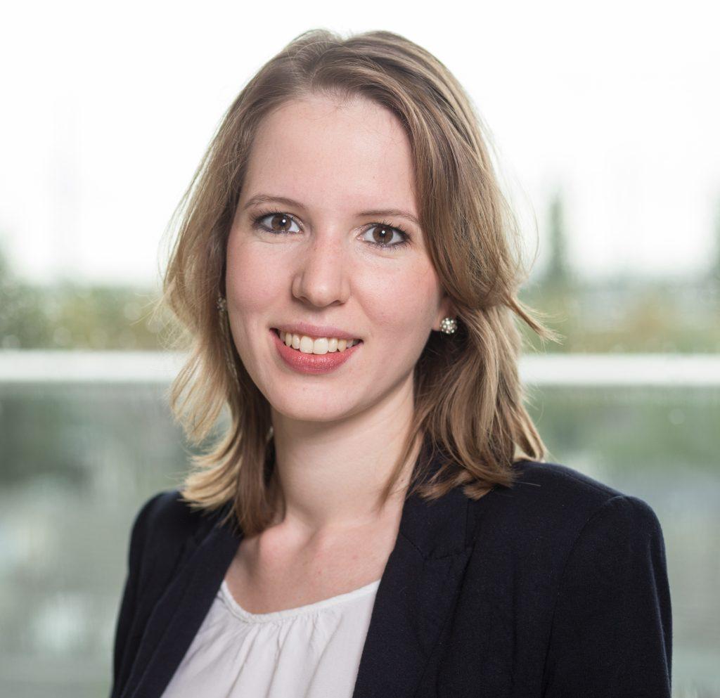 Saskia Herrmann, Personalreferentin bei L´Occitane